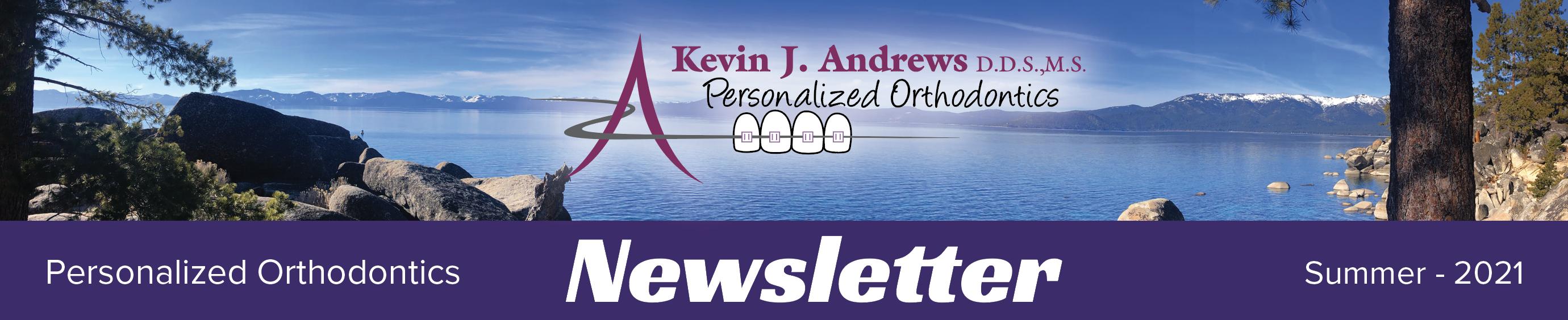 andrews braces newsletter header